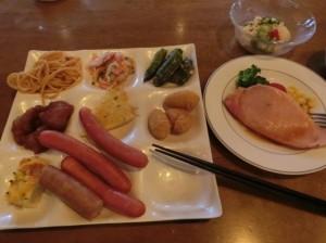 ひとり親家庭夏の集い・お食事