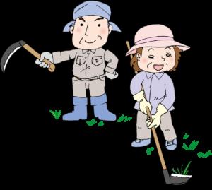 草刈りイメージイラスト